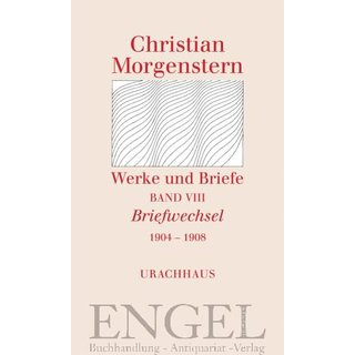 MORGENSTERN, CHRISTIAN Briefwechsel 1004 ? 1908