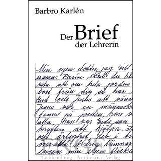 Karlèn Barbro Der Brief Der Lehrerin 2500 Buchhand